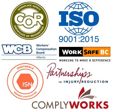 Safety and quality certification logos